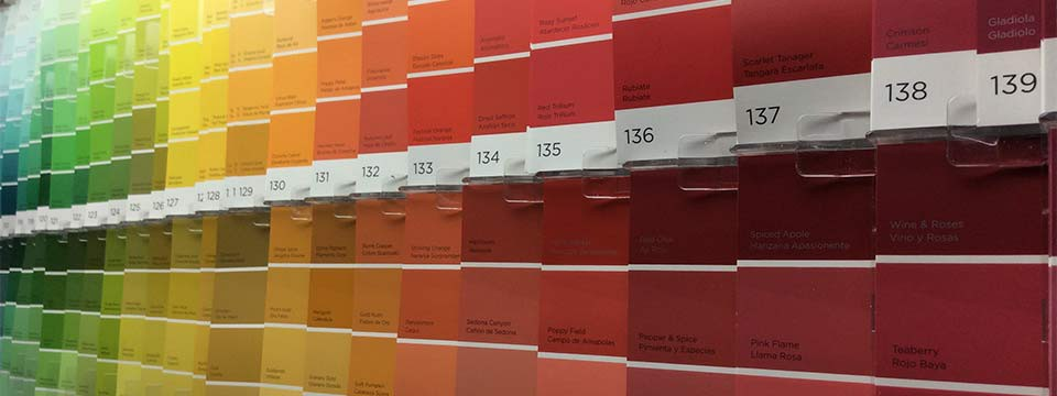 Hundreds of color options for your next project